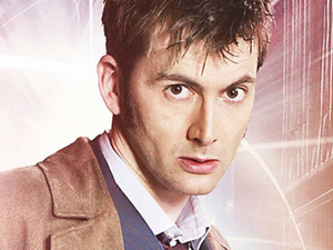 The Tenth Doctor from Doctor Who