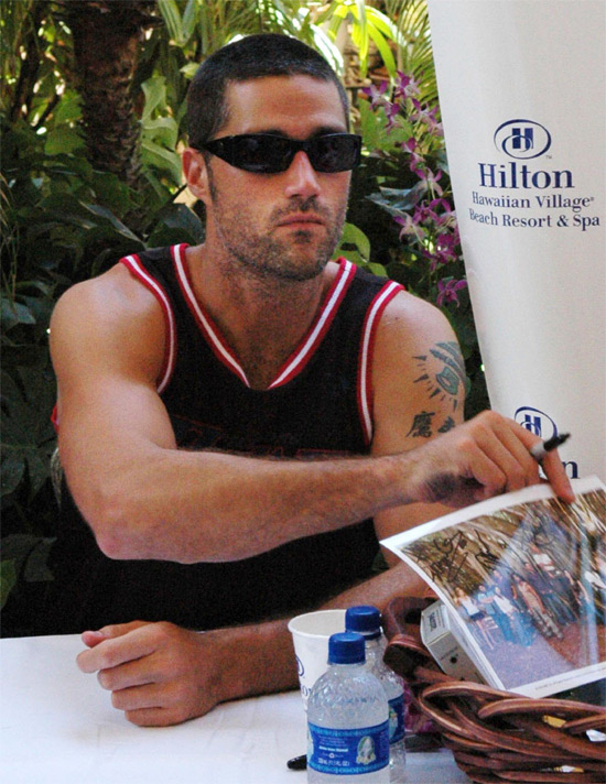 Matthew Fox Tattoo. lt;lt;Naked matthew fox / matthew