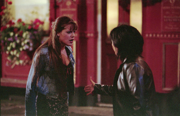 EastEnders 25 Moments: Kat Zoe reveal 2001
