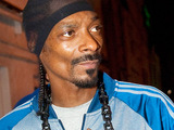 Snoop Dogg seen outside Mansion nightclub Miami Beach, Florida.