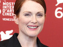 Julianne Moore admits that she doesn't discuss sex scenes with her husband.