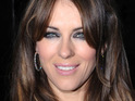 Elizabeth Hurley denies reports claiming that she had breast enlargement surgery.