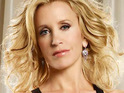 "Felicity Huffman jokes that she enjoys being in ""fat clothes"" for her role in Desperate Housewives."
