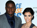 NFL star Reggie Bush and model Amber Rose are photographed together on a reported date in the Hamptons.