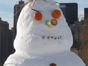 Police complain after a woman dials 999 to report that her snowman had been stolen.
