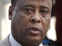 Fingerprints found on the syringe that killed Michael Jackson don't belong to Dr Conrad Murray.