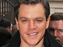 Matt Damon reveals that he wants to move into directing feature films.