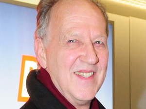 Werner Herzog on his way to the 60th Berlin International Film Festival