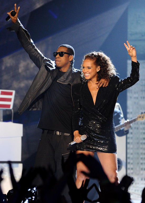 Jay-Z and Alicia