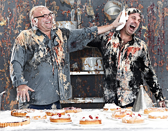 Radio Times Masterchef food fight
