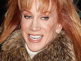 Comedian Kathy Griffin out and about in Manhattan, New York City