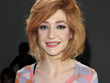 Nicola Roberts at London Fashion  London, England.