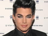 Adam Lambert at G-Star Raw's New York Fashion Week 2010 show