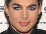 Adam Lambert at Mercedez-Benz IMG New York Fashion Week Fall 2010