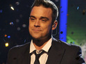 "Robbie Williams thanks his fans and says that he is the happiest he has ever ""professionally"" been."
