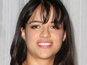 Michelle Rodriguez reveals she is planning to become a vegetarian to avoid accusations of hypocrisy.