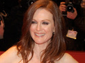 Julianne Moore states that she is perfectly happy to grow old gracefully.