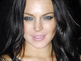 Lyndsay Lohan at the Vogue.it Party Autumn\Winter Milan Fashion Week, Milan, Italy.