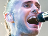 Jared Leto of 30 Seconds To Mars performs on stage at Wembley Arena, London