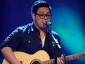 American Idol contestant Andrew Garcia looks up his own name on Google.