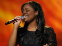 Paige Miles admits that she didn't expect to be voted off American Idol this week.