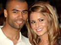 Ashley Cole reportedly serenades his ex-wife Cheryl Cole with Bruno Mars's 'Just the Way You Are'.