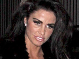 Katie Price leaving a party at Chateau Marmon