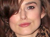 Keira Knightley leaving the Comedy Theatre after she performed in 'The Misanthrope', London
