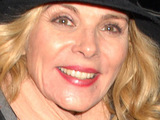 Kim Cattrall seen leaving The Vaudeville Theatre after her performance in the West End production of 'Private Lives', London