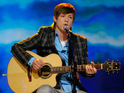 Former American Idol star Alex Lambert admits that he didn't know how to perform.