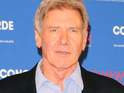 Calista Flockhart and Harrison Ford marry in New Mexico where Ford is shooting a new film.