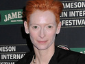 Tilda Swinton says that no-one in her family cares she has won an Academy Award.