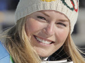 Olympic skier says that a knee injury will keep her from competing.