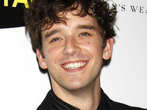 Ugly Betty star Michael Urie attending the New York City opening night after-party of the play 'The Temperamentals'