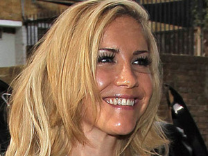 Heidi Range of the Sugababes at the 'Sweet 7' album launch party
