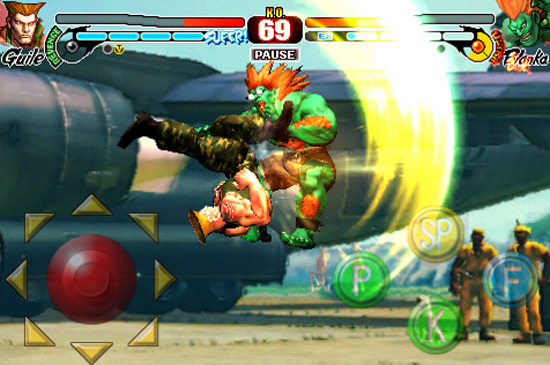 Gaming Review: Street Fighter IV (iPhone)