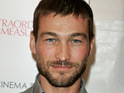 Spartacus star Andy Whitfield thanks fans for supporting him after he was diagnosed with lymphoma.