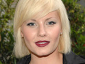 "Elisha Cuthbert reveals on Twitter that she is ""happily, happily engaged""."