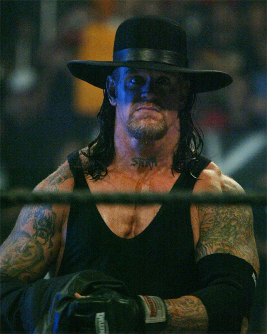 The Undertaker AKA Mark Calaway