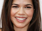 Ugly Betty star America Ferrera attending the Premiere of &#39;How To Train Your Dragon&#39; held at the Gibson Amphitheatre in Los Angeles