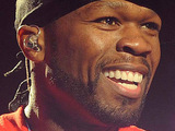 50 Cent performing live at the O2 Arena