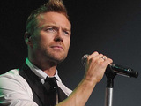 Ronan Keating performing live in concert