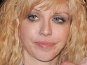 Courtney Love splits from Andre Balazs following her claims of a lesbian fling with Kate Moss.