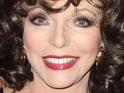 Joan Collins admits that she gets frustrated when people become obsessed with social networks.