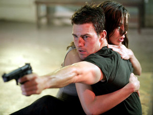Tom Cruise and Michelle Monaghan in Mission Impossible III