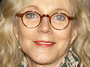 Blythe Danner at the opening night of 'The Glass Menagerie'