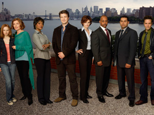 Castle cast shot