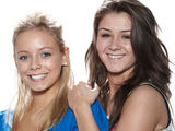 Sophie and Sian from Coronation Street
