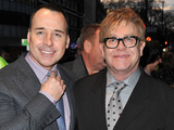 Elton John and David Furnish at the 'Billy Elliot The Musical' fifth birthday performance