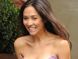 Myleene Klass during a photoshoot in Mayfair for the Classical BRIT Awards